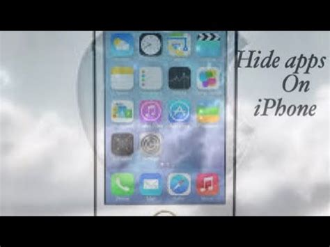 how to hide apps on iphone 5s how we can hide apps on iphone 4 4s 5 5s 6