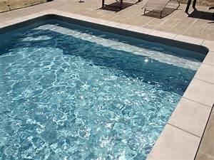 apfm piscine traditionnelle a st paul les dax et capbreton With piscine avec liner gris clair 4 structure escalier et couleur de leau de votre piscine