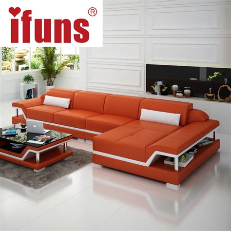 modern l shaped sofa ifuns chaise sofa set living home furniture modern design