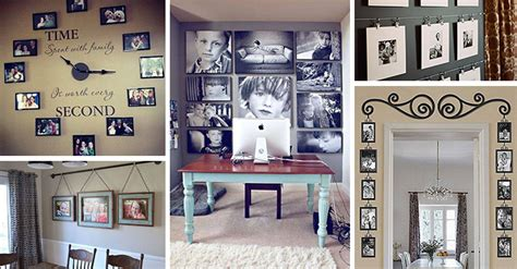 creative ways  display family