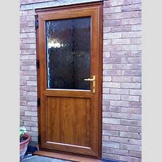 Upvc Back Doors & Replacement Back Doors From Altus