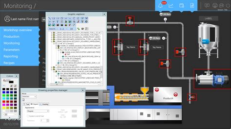 graphical interface hmi pcvue solutions