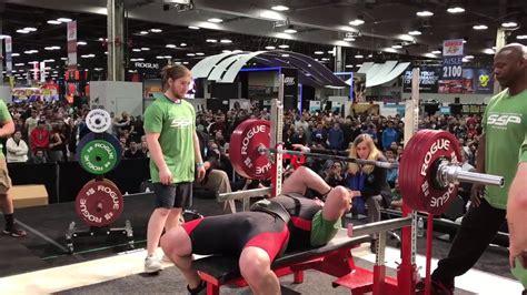 world record bench press ssp founder dennis cieri smashes bench press world record