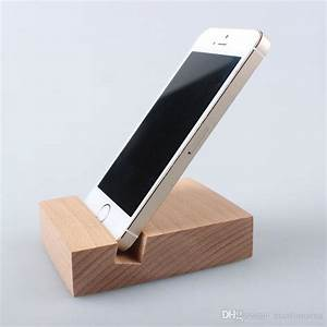 2018 Simple Design Solid Wood Mobile Phone Support/Beech