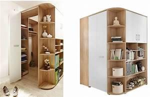 Meuble D Angle Chambre : meuble angle dressing maison design ~ Teatrodelosmanantiales.com Idées de Décoration