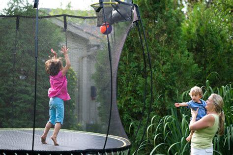 flexrhoop trampoline basketball hoop springfree