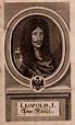 Leopold I. Holy Roman Emperor 1640-1705 | Antique Portrait