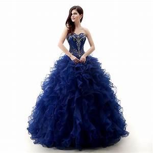 les 25 meilleures idees de la categorie robes de bal bleu With robe de mariée bleu roi