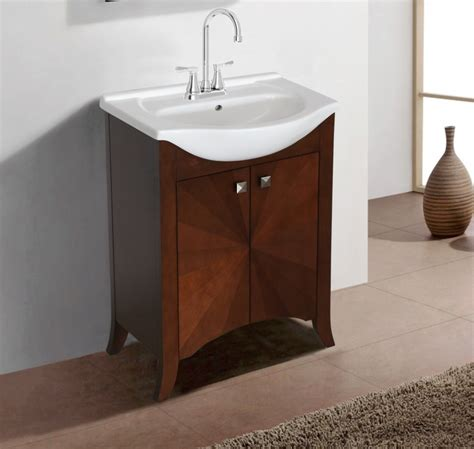 24 Vanity With Sink by 24 Inch Transitional Single Sink Vanity In Royal Walnut