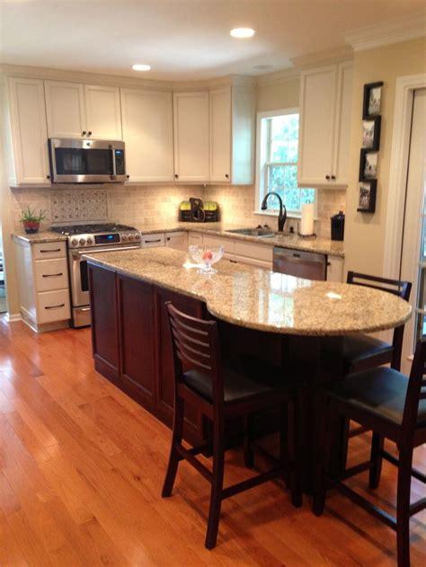 granite kitchen island table quot after quot kitchen renovation venetian gold