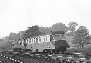 Hatton Bank  Gwr Diesel Railcar No 26 With Auto Trailer No