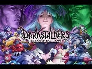 Darkstalkers Resurrection Gameplay PS3 - YouTube