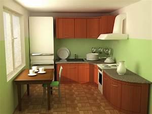 Meuble Cuisine Design : meubles de cuisine arrondis la cuisine ergonomique et design ~ Teatrodelosmanantiales.com Idées de Décoration
