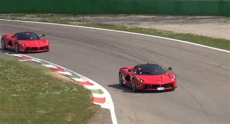 Video: Three LaFerraris on Track at Monza - GTspirit