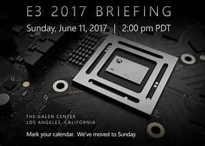 Microsoft E3 2017 Xbox Press Conference Brought Forward ...