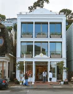 3 story building daniel merriam 39 s gallery in sausalito commercial interior design news mindful design consulting