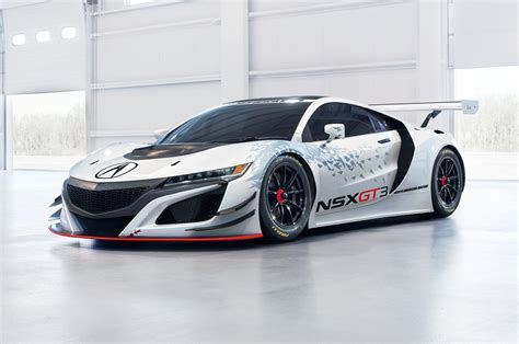 acura nsx gt3 looks ready to race in new york