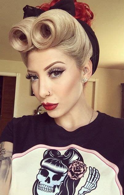 er rockabilly kostuem selber machen makeup rockabilly