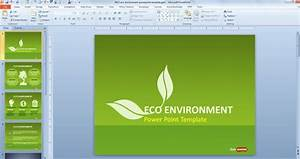 Green Sustainability Powerpoint Template Has Fou