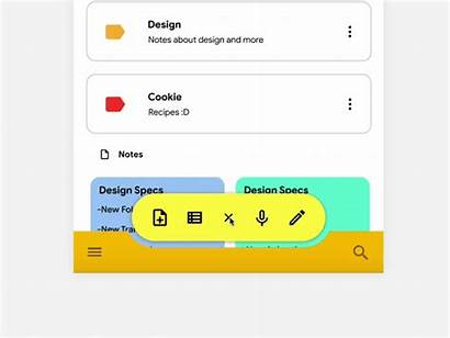 Google Keep Redesign Studio Dribbble Material Invision