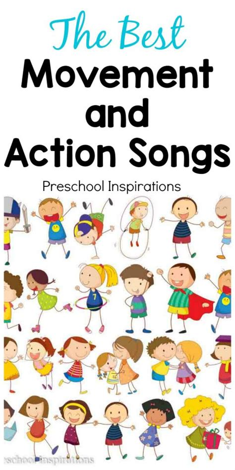 the best movement and songs for children 797 | The Best Movement and Action Songs 512x1024