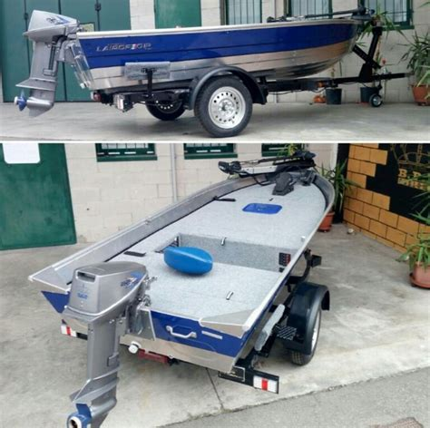 Custom Jon Boat Trailer by Tin Boat With Custom Deck Jon Boats
