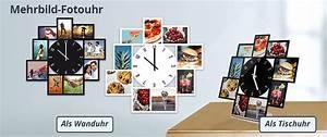 Bilderrahmen Mit Mehreren Bildern : wanduhren und tischuhren mit eigenem foto selbst gestalten ~ Indierocktalk.com Haus und Dekorationen