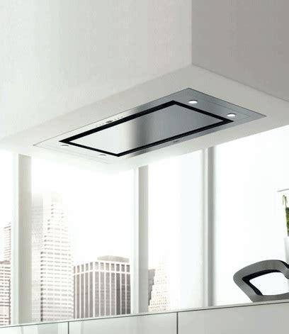 hotte de cuisine plafond hotte de plafond design blanche photo 15 15 vous