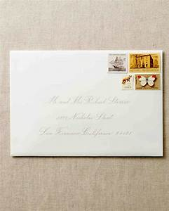 how to address guests on wedding invitation envelopes With wedding invitations only one envelope