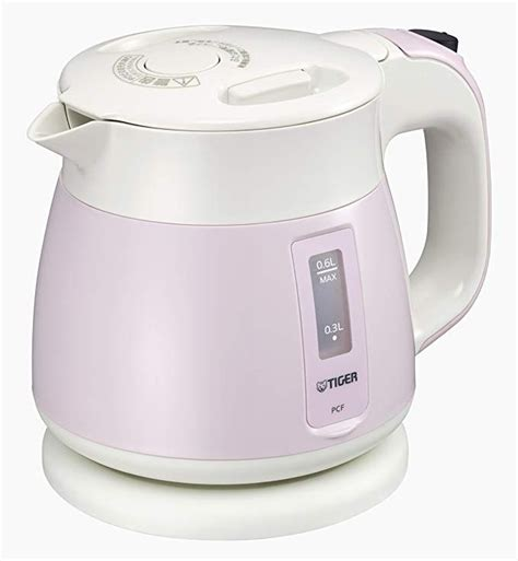 tiger kettle electric thermos pink g060 600ml pcf resmono