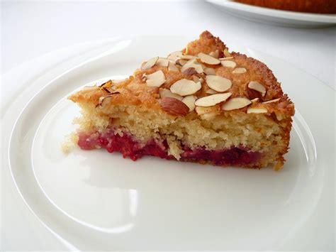 Add the remaining flour, ground almonds, baking powder, coffee powder, and milk. :pastry studio: Raspberry Almond Coffee Cake