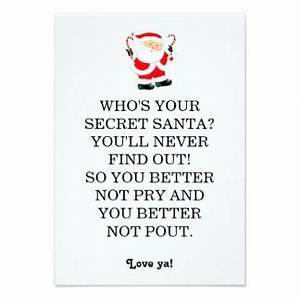 25 best ideas about Secret santa poems on Pinterest