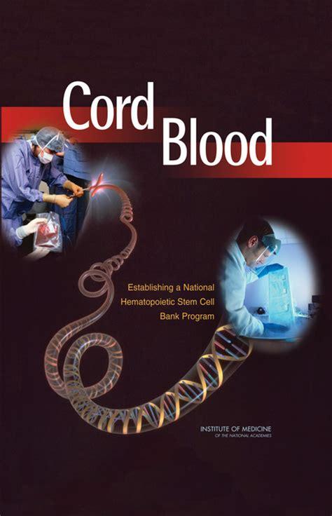 cord blood establishing  national hematopoietic stem