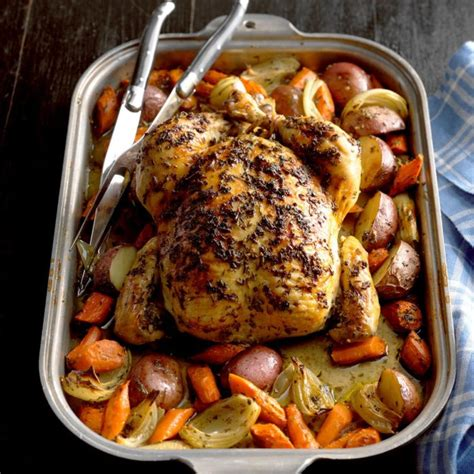 Roasted Chicken With Rosemary Recipe  Taste Of Home