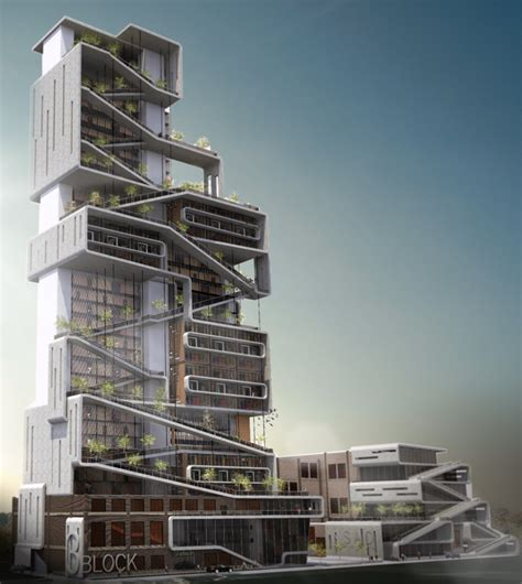 Architecture Design by Dormitory Facility At The New School Of Architecture And