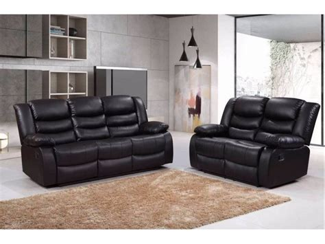 Faux Leather Recliner Sofa by Romero 3 And 2 Seater Faux Leather Recliner Sofa Set
