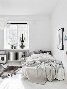 Décoration Chambre Scandinave : chambre style scandinave vu sur only deco love petite lily interiors ~ Melissatoandfro.com Idées de Décoration