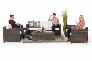 Rattan Lounge Set Braun : sch ne gartenlounge momoko im rattan geflecht braun f r die terrasse oder in den garten ~ Bigdaddyawards.com Haus und Dekorationen