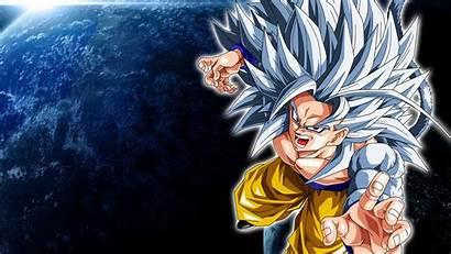Goku Saiyan Super Wallpapers Iphone Ssj5 Screensaver