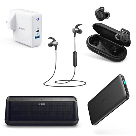 anker s discounted bluetooth headphones and charging accessories can keep your going