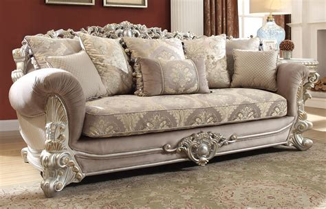 Traditional Style Loveseats by Georgian Traditional Style Fabric Sofa