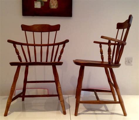 nichols and chairs ebay nichols of gardner massachusetts pair of maple