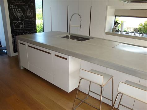 Kitchen Bench Tops Qld by Concrete Benchtops Unique Kitchen Benchtops Flowing