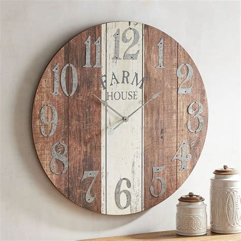 Clocks: farmhouse clocksfarmhouse clocks Farmhouse Table
