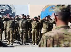 American troops leave Afghanistan's Helmand province