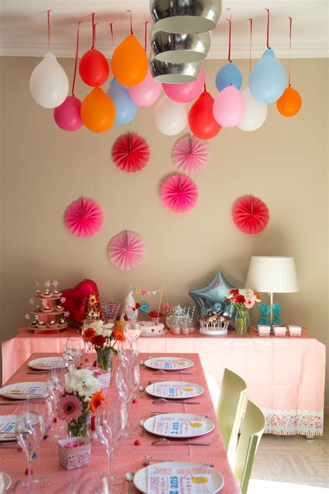 decoration de table anniversaire  ans