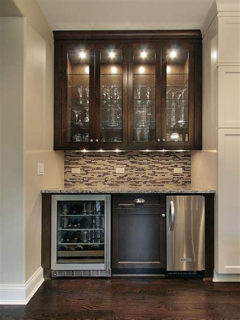 bar cabinet with fridge space wet bar design home design ideas pictures remodel and decor