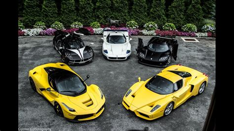 Top 5 World Rich Peoples Biggest Super Car Collections