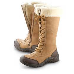 womens winter boots sale canada 39 s lamo ankle boots chestnut 235687 winter boots at sportsman 39 s guide