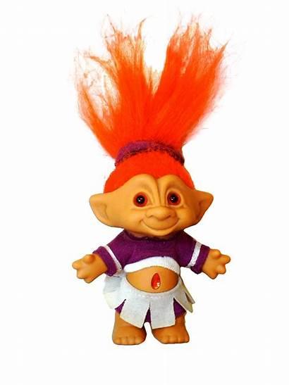 Troll Doll Decor Hair Purple 90s Dolls